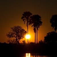 Tramonto Botswana